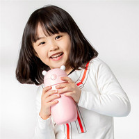 MITU 435ML Children Kids Vacuum Insulation Drinking Cup 316 Stainless Steel Safety Flask Water Bottle Solid Feeding Cups