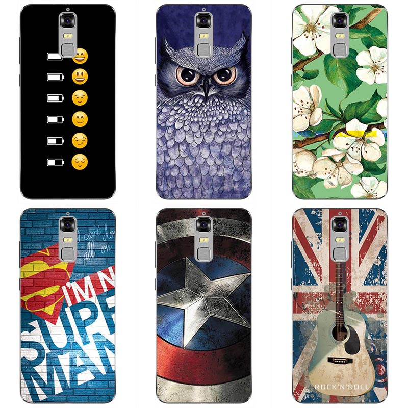 For <font><b>ZTE</b></font> <font><b>Blade</b></font> <font><b>A610plus</b></font> Soft TPU fashion style cases Soft silicon Phone Case Cover Floral colorful painting skin shell image