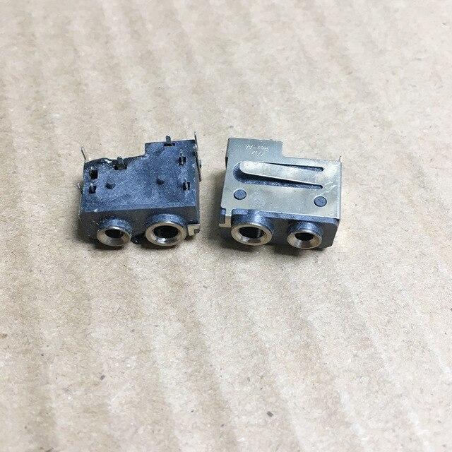 10 pçs/lote o 2.5/3.5mm 2 pinos m plug fone de ouvido jack conector soquete para motorola dep450 dp1400 xir p3688 walkie talie