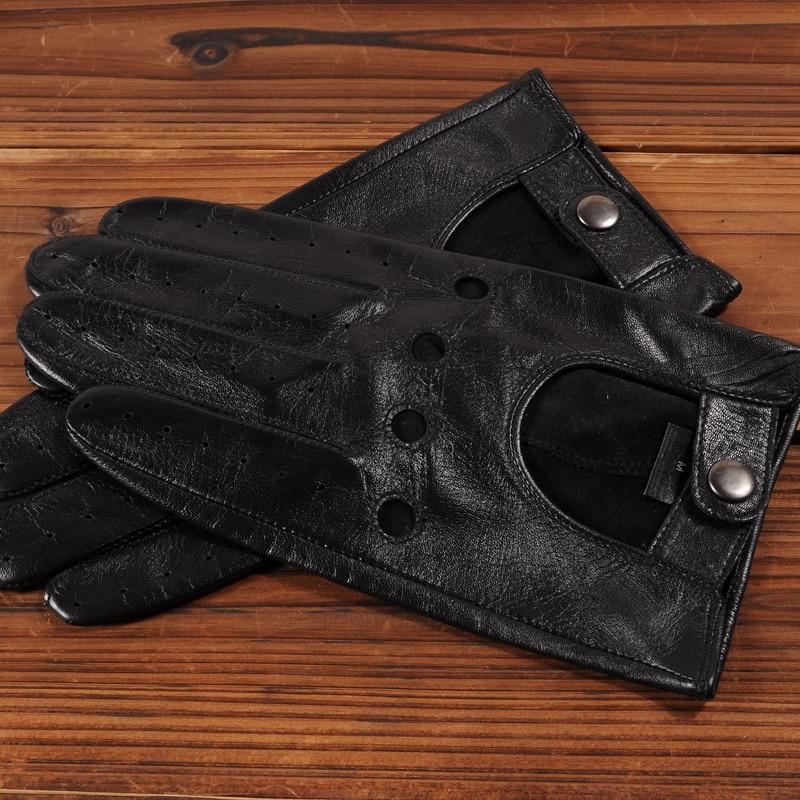 Gours pria Musim Gugur dan Musim Dingin Sarung Tangan Kulit Asli New - Aksesori pakaian - Foto 4
