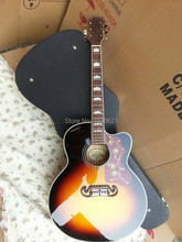 Chibson цельнокроеная электроакустическая разрезе vs одноместный акустическая shell гитара завод новая