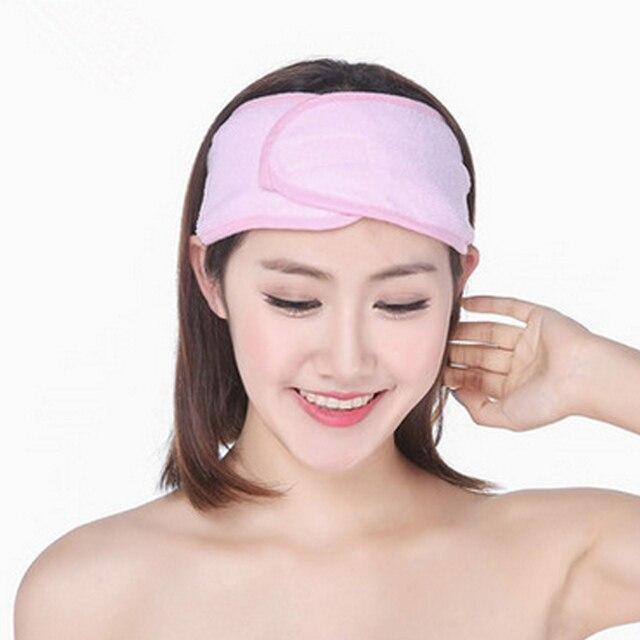 New Wash Face Makeup SPA Women Sweat Elastic Soft Headbands Hair Band AIC88