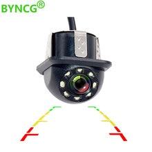 Вид сзади автомобиля Камера резервного копирования Камера автомобиль HD Камера HD CCD 8LED лампа Ночное видение Водонепроницаемый для автомобиля DVD плеер монитор NTSC