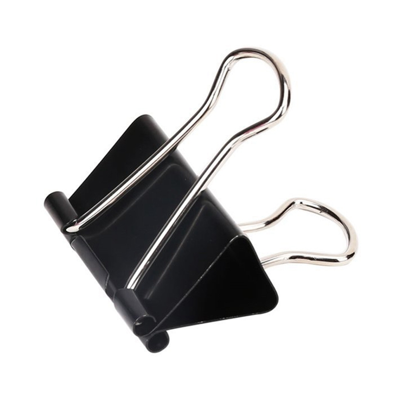 Extra Large Binder Clips 2-Inch (24 Pack), Big Paper Clamps For Office Supplies, Black