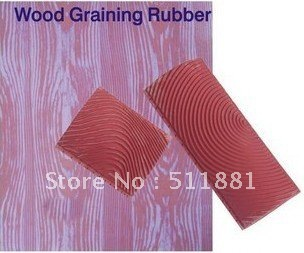 wood grain tool rubber wall texture art paint tool set 3 6 in