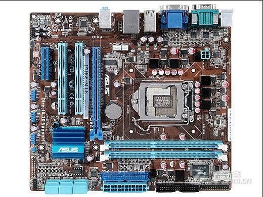 original motherboard P7H55-M LE LGA 1156 DDR3 H55 Desktop motherborad Solid state power supply 90%new image