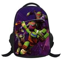 Mutant Ninja Turtles Gedruckt Rucksäcke 3D Cartoon Schultaschen für Jungen/Mädchen Kinder Rucksäcke für Jugendliche Reisetaschen