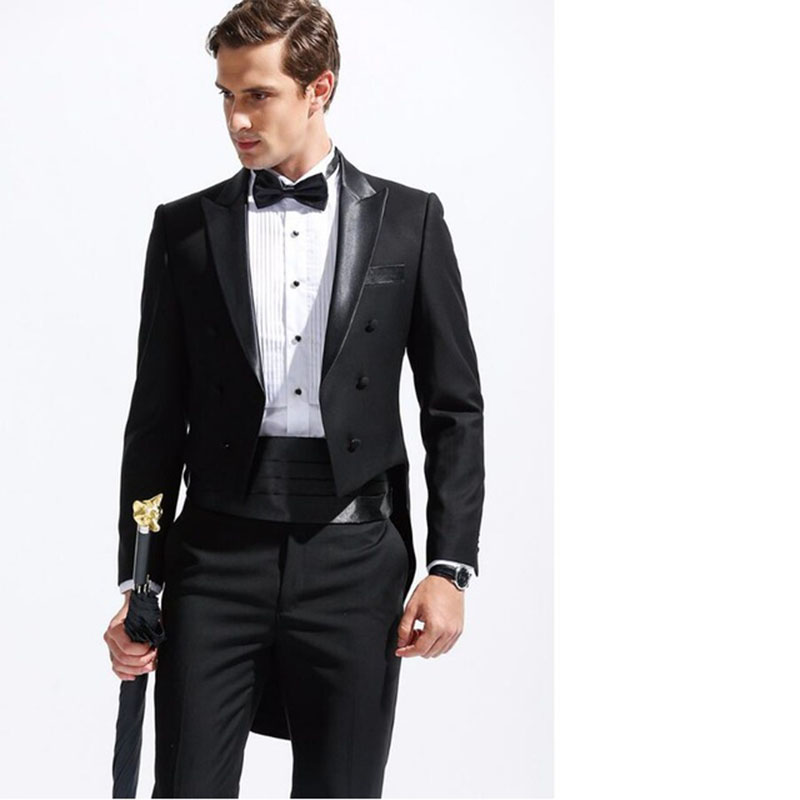 Costumes Pour Pantalon De Image Robe Made As The custom Mode Tuxedo 2017 Terno Hommes Mens Blazer veste Mariage Costume Homme Noir Formelle D'affaires ZqxAgAdwaf
