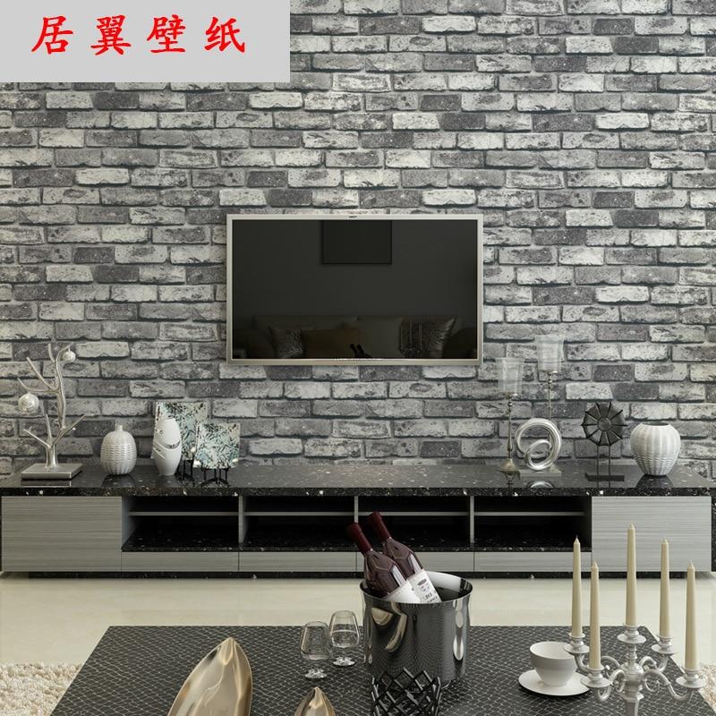 Looks like brick 3d tuscan brick wallpaper 3d pedras panel papel de parede background behang - Fries behang wall ...