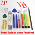 New Opening Repair Tools Screwdriver Set For Macbook Air / Pro iPhone 6s/6/5s/5/4 Repair