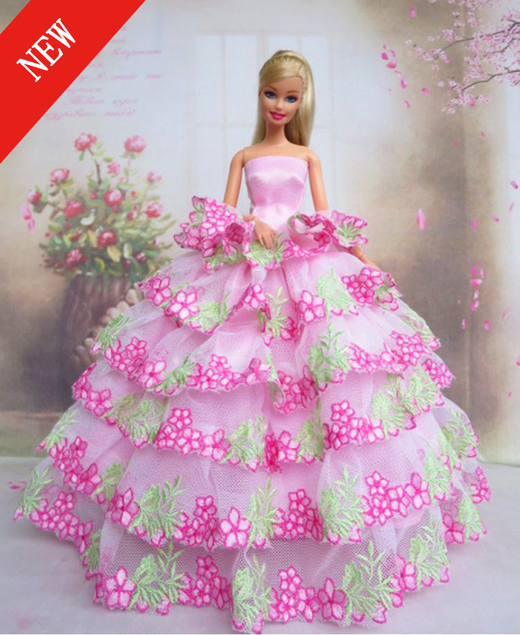Pink Barbie Dresses For Girls | www.pixshark.com - Images ...