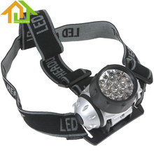 Water Resistant 21 LED Bulbs Head Lamp with 4 Selectable Modes