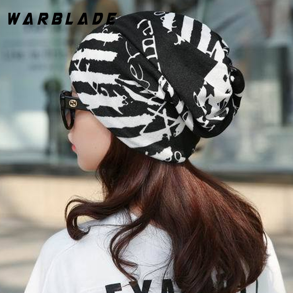 2018 New Simple Fashion Headwear Women's Hats Female Winter Caps Star Hats Ladies Spring And Autumn Hip-hot Skullies Beanies
