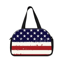 American Flag small bag for travel stylish travel handbags for women Spain duffle bags for girls shoulder workout bags for boys
