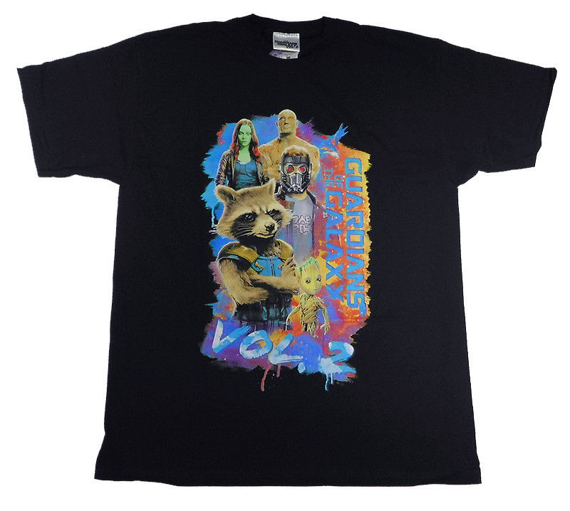 Guardians of The Galaxy Vol 2 Movie Official T Shirt MEN SMALL / MEDIUM New Fashion T-Shirt Graphic Letter Slim