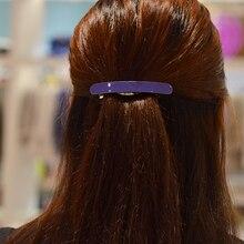 Women headwear 2017 simple korean hair clips office hair barrette ponytail holder cute hair accessories for women