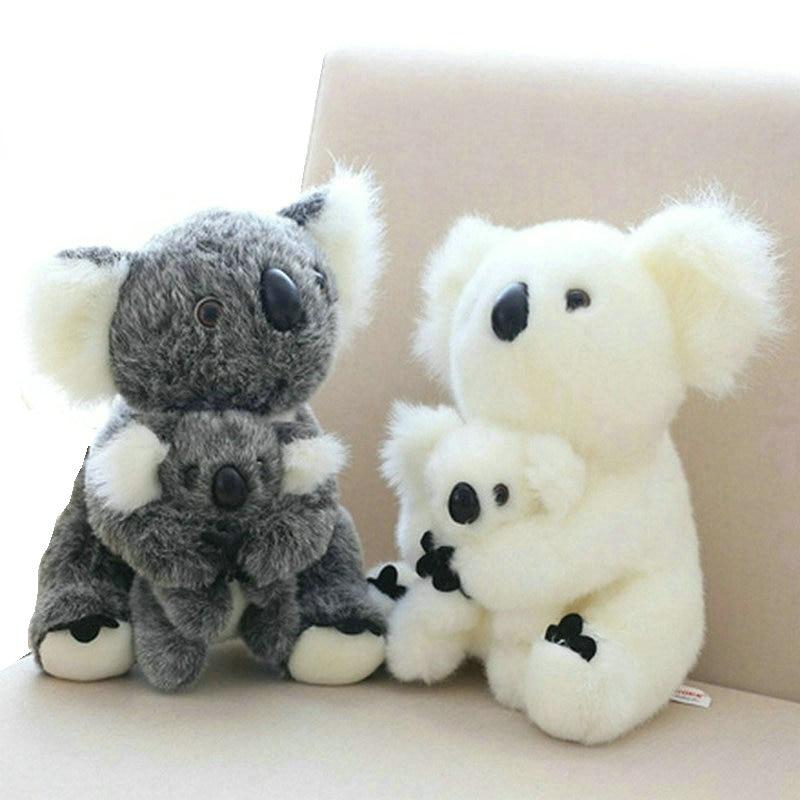 koala plush toy Australia animal koala doll cute animal stuffed soft doll mom hold kids koala toy high quality kids toys