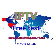 Code de Test gratuit USA Europe asie arabe italie IPTV UK sports VOD m3u abonnement IPTV compte adulte X X iptv panneau revendeur(China)