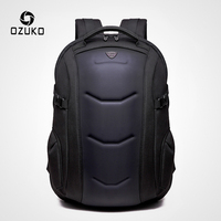 OZUKO Brand Waterproof Oxford Backpack for Teenager 15.6 inch Laptop Backpacks Male Fashion Schoolbag Men Travel Bags Mochilas