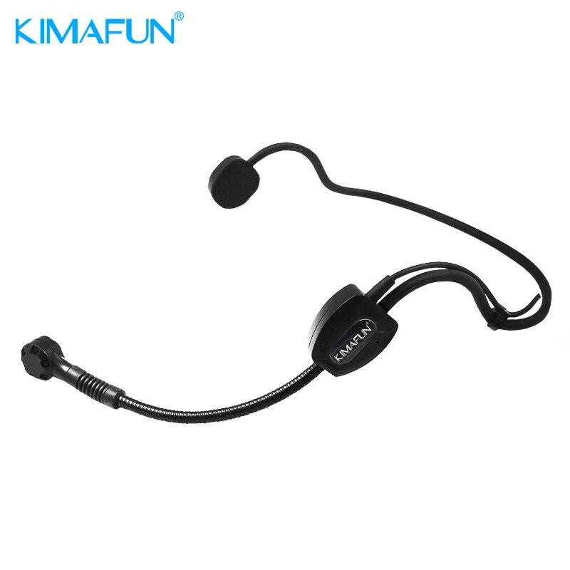KIMAFUM HC-4070 2.4G Wireless Microphone Headset Megaphone Radio Mic For Singing Teaching Stage performance High Quality цена и фото