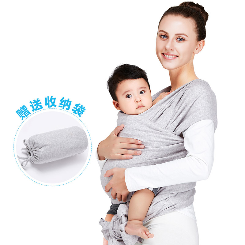 2016 Promotion Baby Sling Mochila Stretchy Wrap Carrier Baby Canguru Backpack Solid Color Two Shoulders Elastic