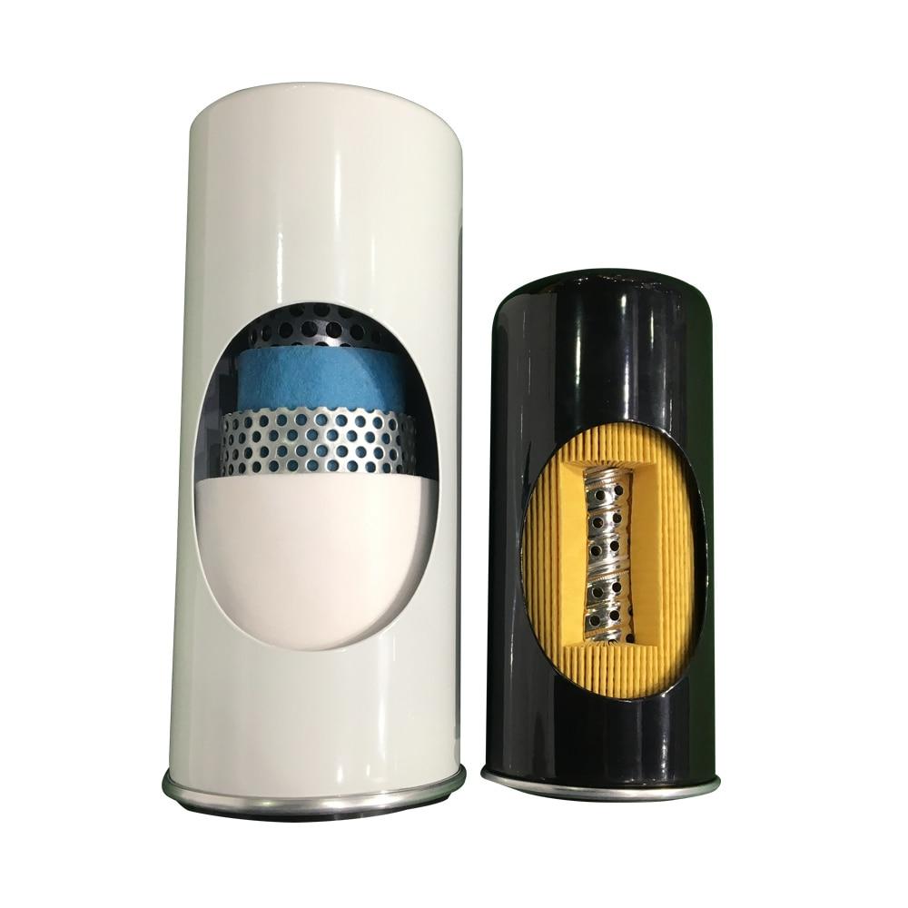 Filtre à huile de remplacement 1625752500 pour pièces de compresseur d'air Atlas Copco 2903752500 - 3