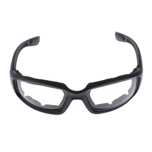 Image 1 - Motorcycle Windproof Dustproof Riding Glasses Padded Comfortable Clear PVC Sunglasses Mirror UV400 Lenses Protection Goggles