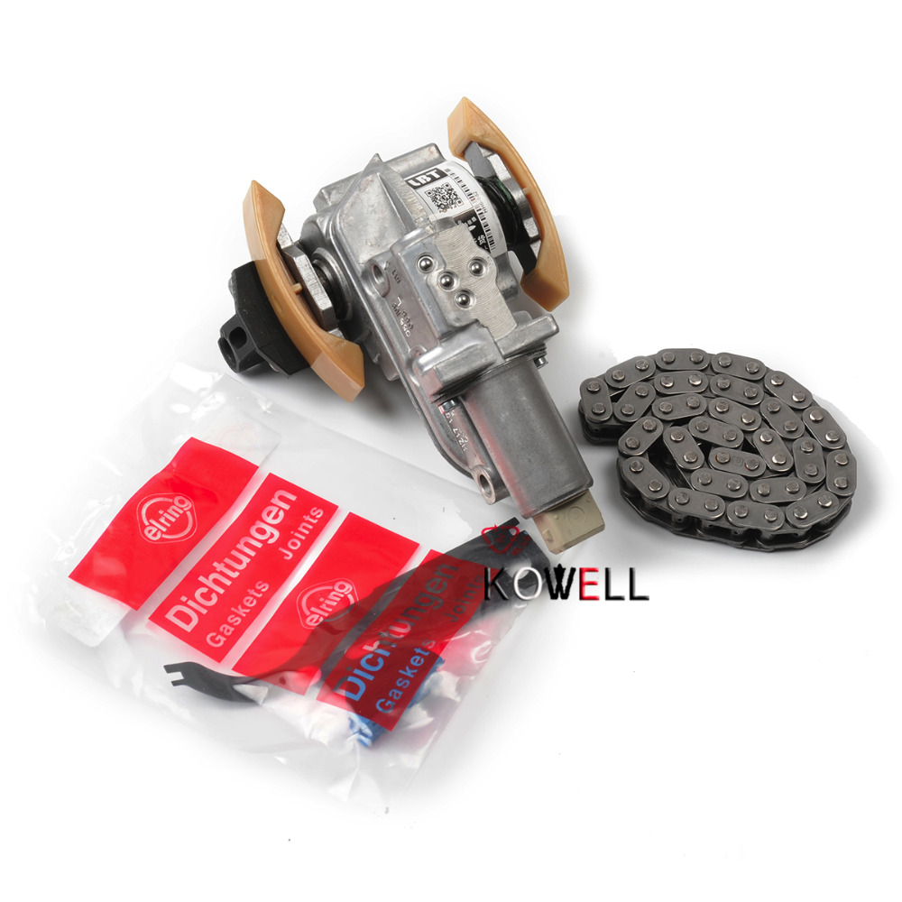 Timing Chain Tensioner SET For AUDI A3 A4 A6 TT VW Jetta Golf Passat Beetle 1.8T VW Passat Jetta Golf 4 Seat Leon 058109088L oil pump 058 115 105 c for audi a4 a6 vw passat