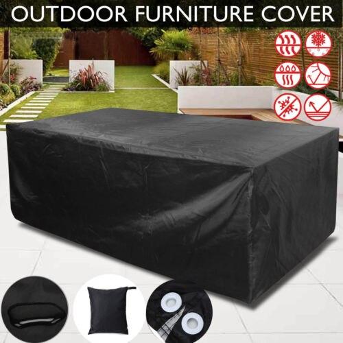 Outdoor Table Furniture Dust Cover Patio Garden Rain Waterproof Wicker Sofa