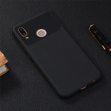 Huawei P20 Lite Case 5.84inch Soft Rubber TPU Silicone Back Phone For Cover Bag Cases Capa