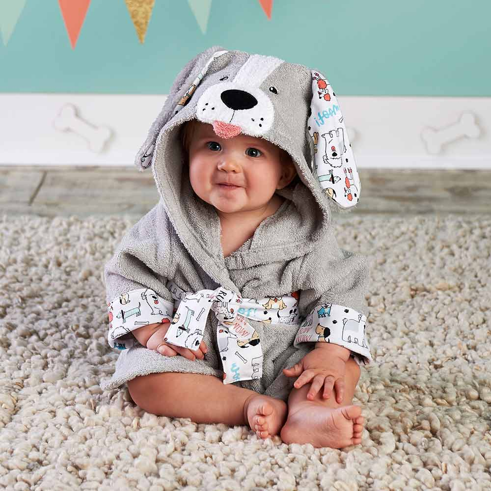 Lovely Little Mouse Panda Baby Bathrobe Pure Cotton With Hood Bathrobe Beach Bath Towel/Rat Mice Spa Robe Infant Ponchos