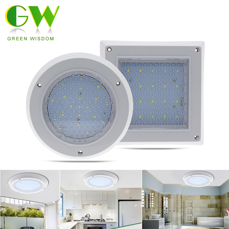 LED Ceiling Lamp Light Water Droplets 10W 18W 22W Surface Mounted Modern Indoor Lighting Square/Round Downlight lan mu led ceiling lamp octopus light