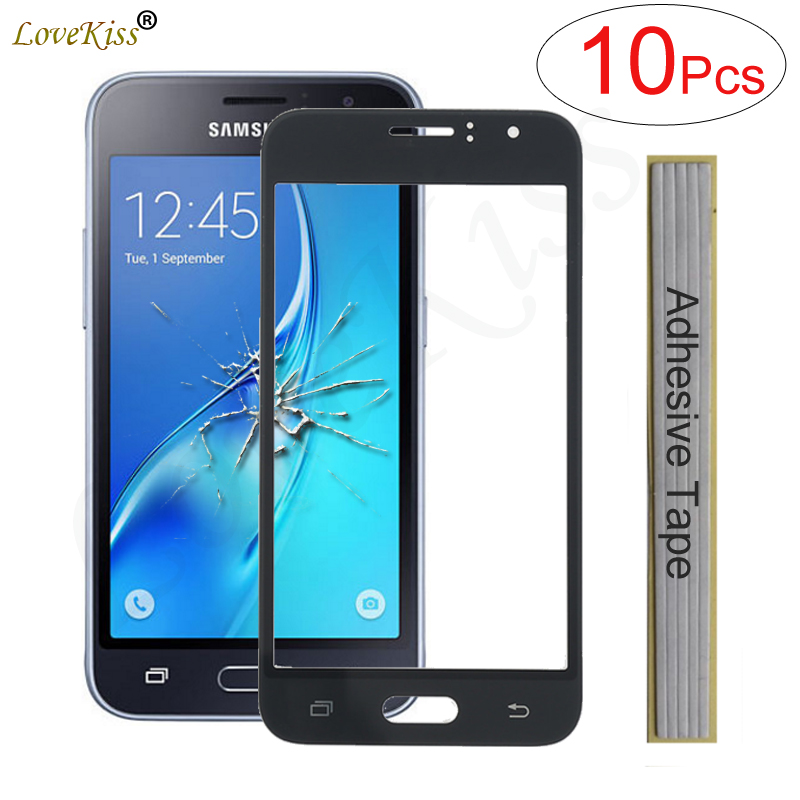 J120 Front Panel For Samsung Galaxy J1 2016 J120 J120F J120H Touch Screen Sensor LCD Display Digitizer Glass Cover Replacement