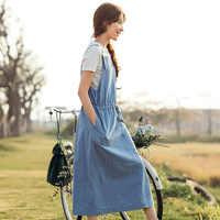 INMAN 2018 zomer nieuwe jurk met korte mouwen T-shirt kan worden gebruikt om de twee stukken van vrouwelijke jurken.