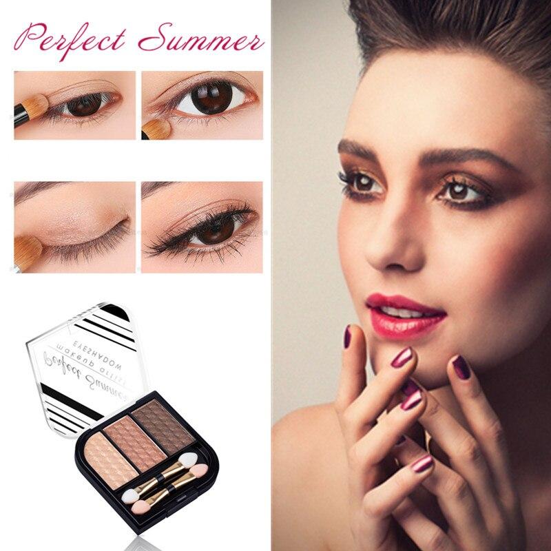 <font><b>Hot</b></font> Sale <font><b>High</b></font> <font><b>Quality</b></font> <font><b>3</b></font> Color Professional <font><b>Nude</b></font> Eyeshadow Palette <font><b>Makeup</b></font> Matte <font><b>Eye</b></font> <font><b>Shadow</b></font> Palette Make Up Glitter Eyeshadow Perf