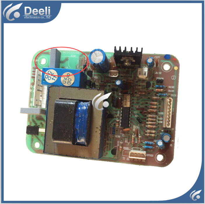 95% new used for refrigerator Computer board B03020056 Board good working 95% new for haier refrigerator computer board circuit board bcd 198k 0064000619 driver board good working