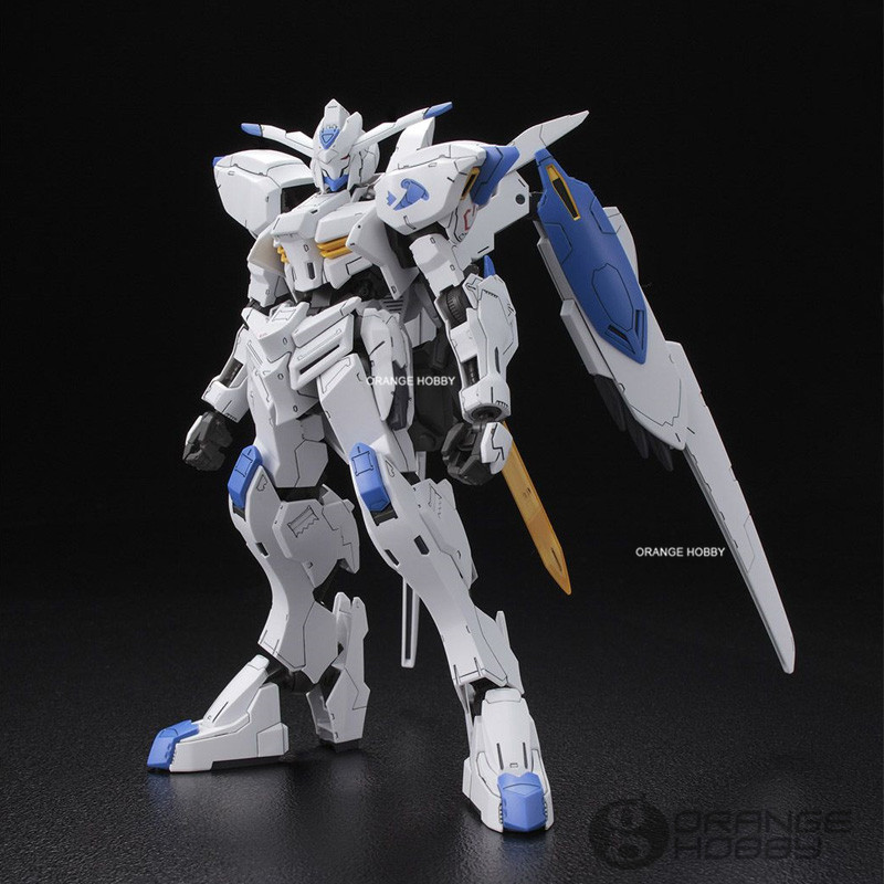 OHS Bandai TV Iron-Blooded Orphans Full Mechanics 04 1/100 Gundam Bael Mobile Suit Assembly plastic Model Kits oh bandai hguc 178 1 144 rx 0 full armor unicorn gundam destroy mode mobile suit assembly model kits
