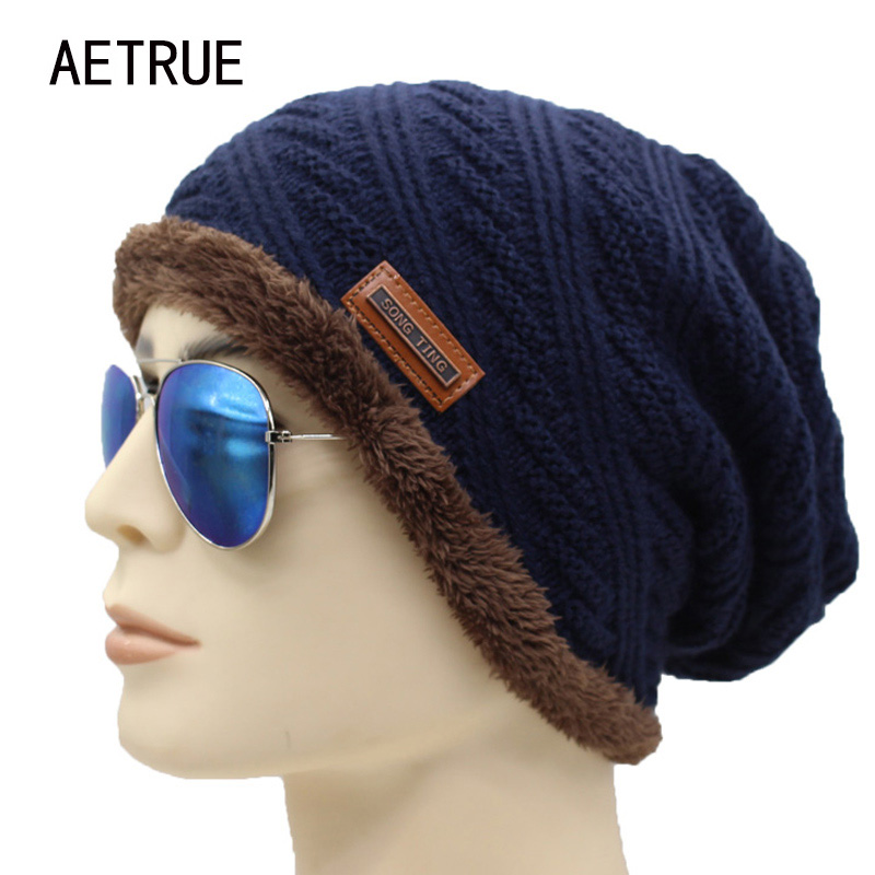 New Winter Hat Men Beanies Knit Brand Bonnet Women Winter Hats For Men Caps Skullies Beanie Fur Warm Baggy Wool Knitted Hat 2017 brand skullies winter hats for men bonnet beanies knitted winter hat caps beanie warm baggy cap gorros touca hat 2016 kc010