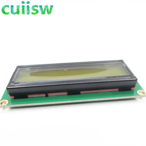 Image 3 - 10PCS LCD1602 1602 module Green screen 16x2 Character LCD Display Module Controller blue blacklight