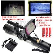Alcances de la Visión nocturna Para La Caza Sniper Scope Nocturna Táctico Riflescope Con Mirilla Digital Monitor de Infrarrojos Rifle de Aire Pistola
