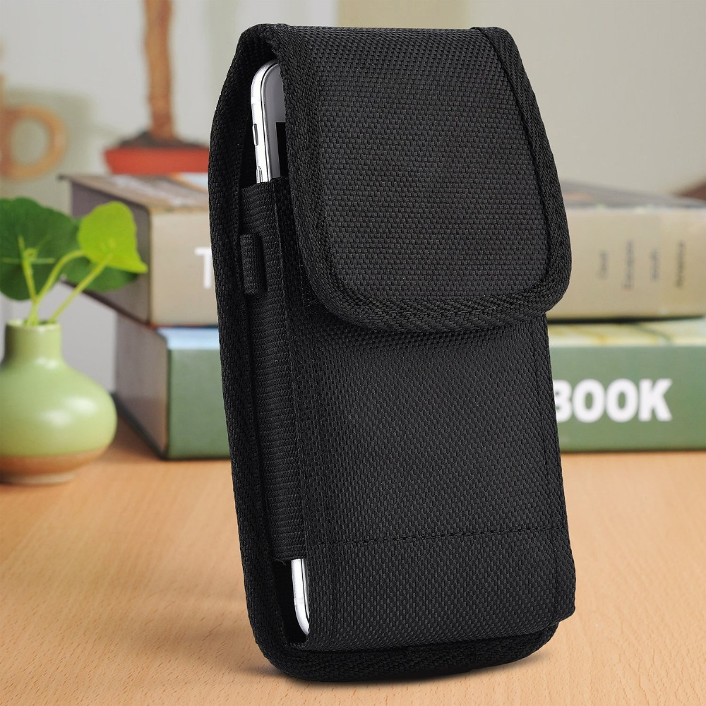 Universal Outdoor Sport Hook Loop Waist Phone Case Belt Cover Bag Pouch For Nomu <font><b>S10</b></font> <font><b>Pro</b></font> / <font><b>Homtom</b></font> HT26 / ZOJI Z6 / GEOTEL A1 image