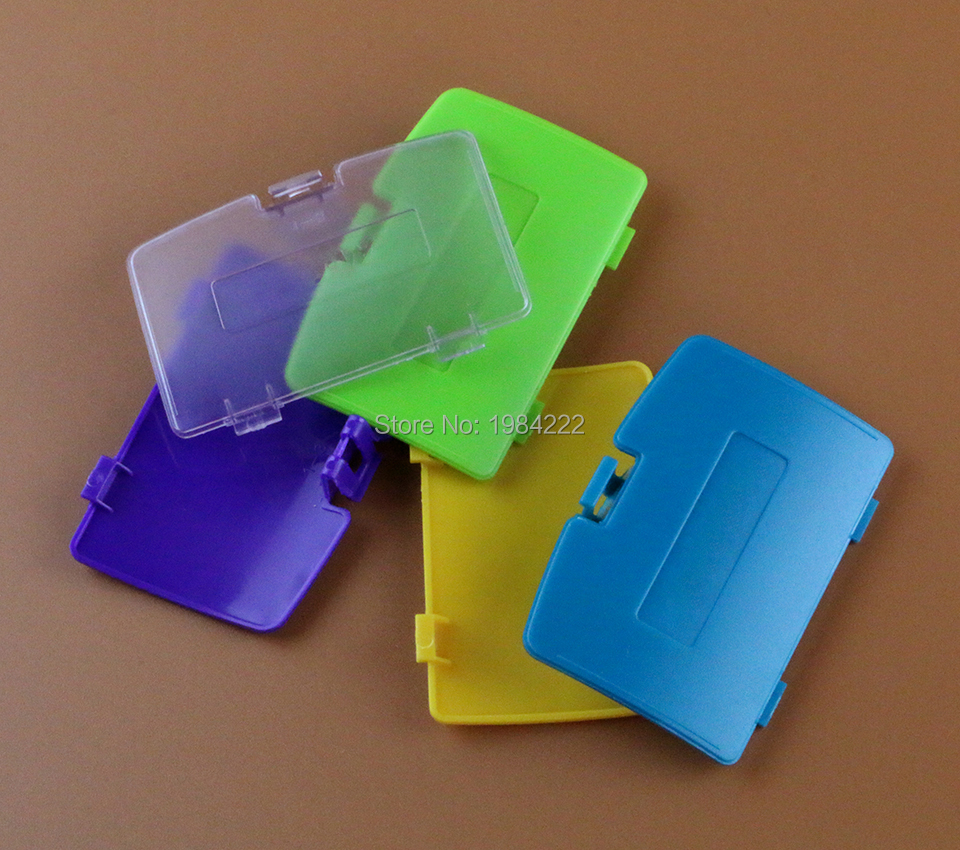 OCGAME Optional Battery Cover Case replacement for GBC <font><b>Gameboy</b></font> <font><b>Color</b></font> <font><b>Game</b></font> Console Repair 60PCS/LOT image
