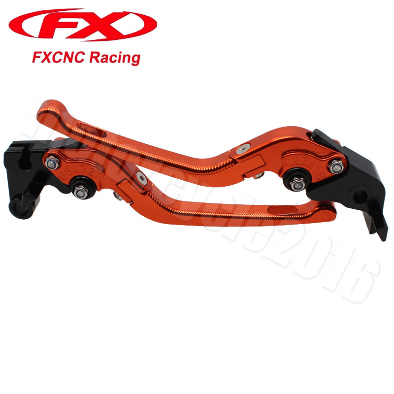 FXCNC 3D Fold Moto levers Motorcycle Brake Clutch lever For SUZUKI DL650 V-STROM 2004-2010 2005 2006 2007 2008 2009 Motobike adjustable short straight clutch brake levers for suzuki gsx 650 f gsf 650 bandit n s dl 1000 v strom 2002 2015
