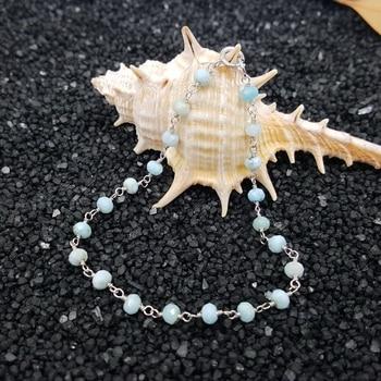 Bracelet Cheville Larimar