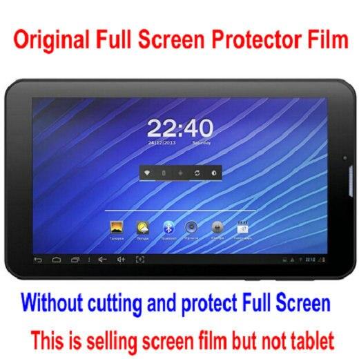 """3 шт./лот Экран защита для """" Miia Windows Tab MWT-74 3g/устрицы T72HRi 3g Планшет Ясно Полный Экран защитная пленка"""