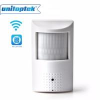 PIR Style ONVIF WiFi IP Camera 960P 720P Built In Audio TF Card Slot IR Version