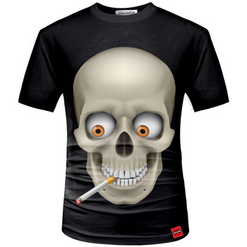 Summer 3D Skull Rock Shirt 1