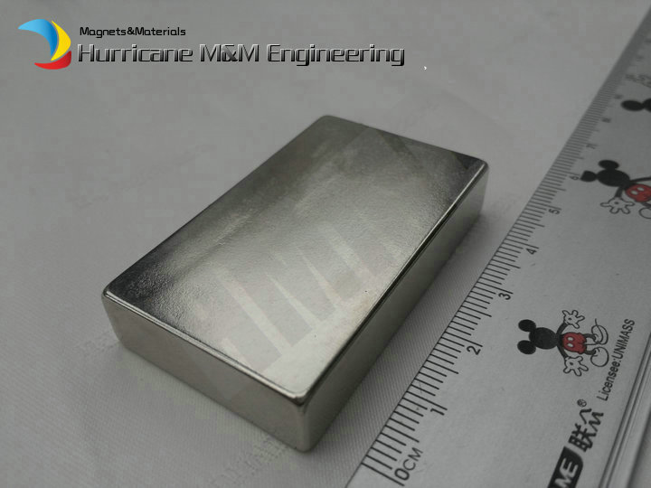 2pcs NdFeB Magnet Block 50x30x10 mm Strong Neodymium Permanent Magnets 2 Rare Earth Magnets Grade N42 NiCuNi Plated 1pc 30 x 20 x 10mm strong block cuboid rare earth neodymium magnets n50 permanent magnet powerful magnet square magnet