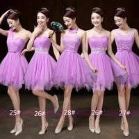 2018 Sweet Children Clothes Lavender Blue Pink Short Prom Wedding Ceremony Lace Junior Big Girls Dresses