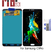Super AMOLED LCD For SAMSUNG GALAXY C9 Pro C9000 Display Touch Screen Digitizer Assembly Replacement 5.5 inch